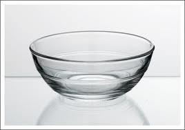 Glazen schalen cr�me br�l�e
